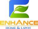 Enhance LLC Lawn Care Logo