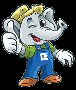 Enhance LLC Mascot Illustration